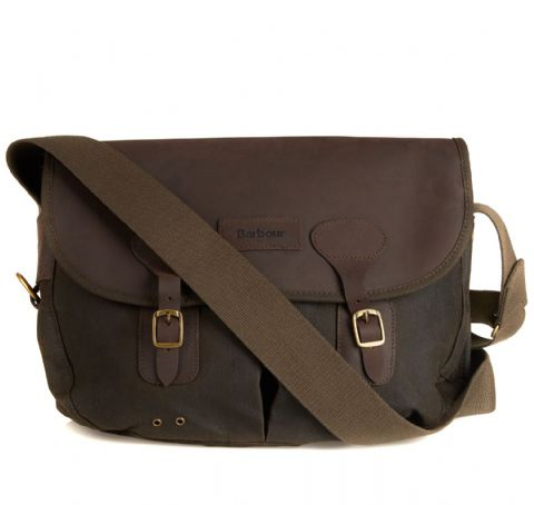 Barbour Wax Leather Tarras Bag - UBA0003OL71